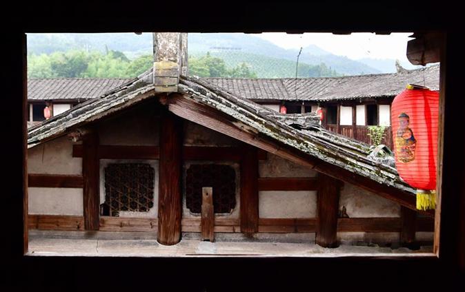 Earth fort Yunsheng building in SE China's Fujian
