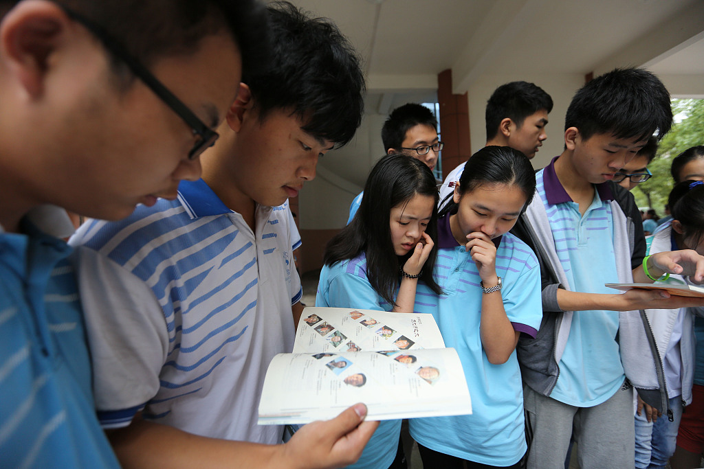 Chinese youth more independent in choosing colleges, majors