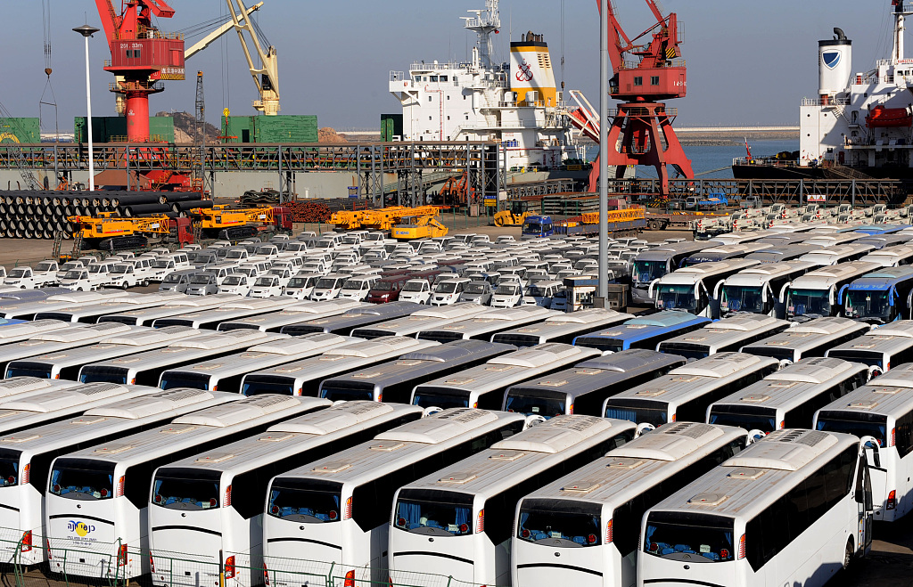 China's car exports expand in June