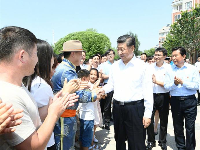 President Xi Jinping inspects Inner Mongolia