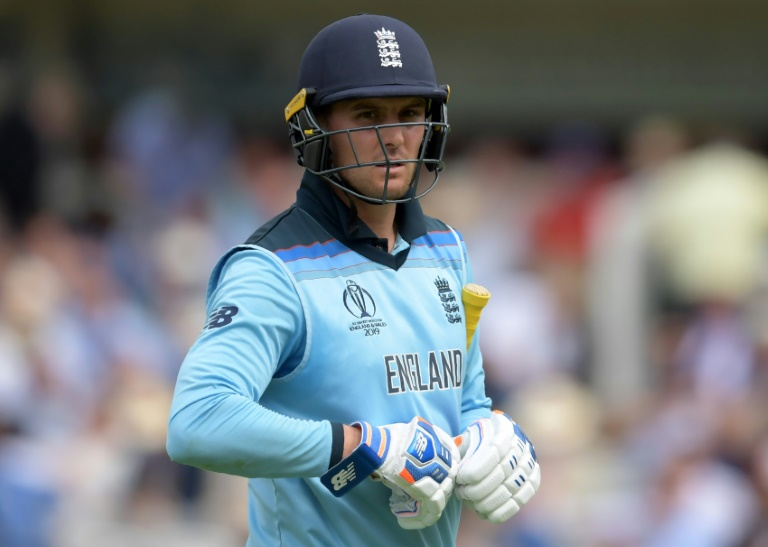 England's Roy falls in World Cup final run-chase against New Zealand