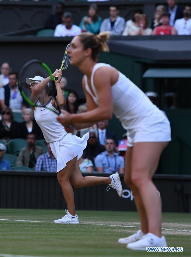 Hsieh/Strycova snatch women's doubles title at Wimbledon
