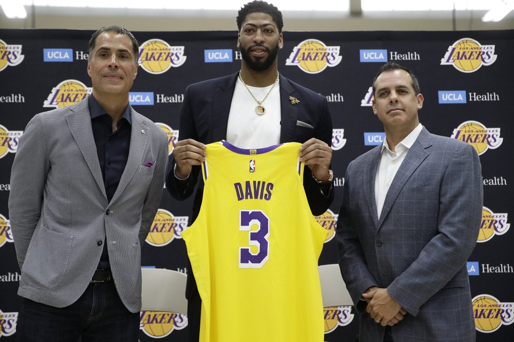 Lakers star Davis withdraws from men's basketball World Cup in China