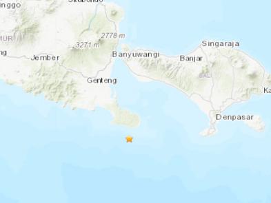 6.0-magnitude quake strikes off Indonesia's Bali Island