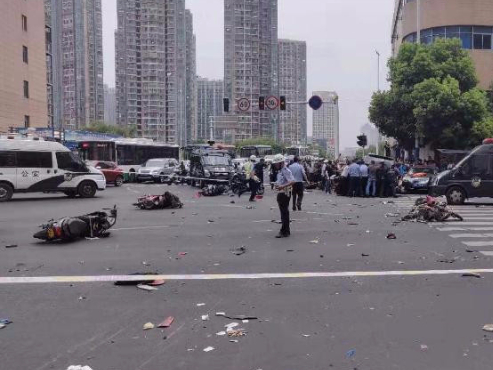3 dead, 10 injured in traffic accident in east China's Jiangsu Province