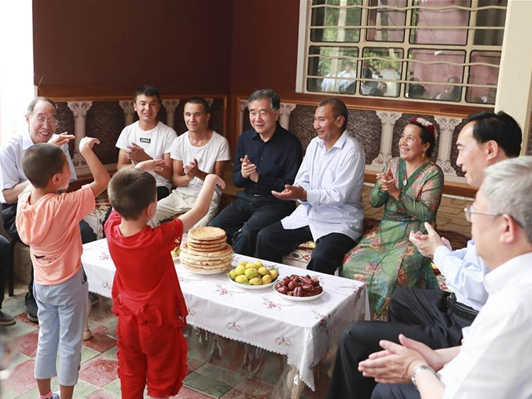 China highlights support to Xinjiang through pairing assistance