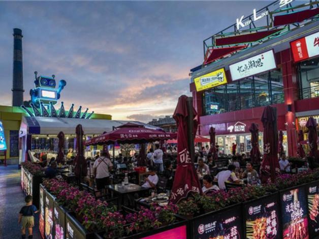 Night-time economy picks up in NW China's Urumqi