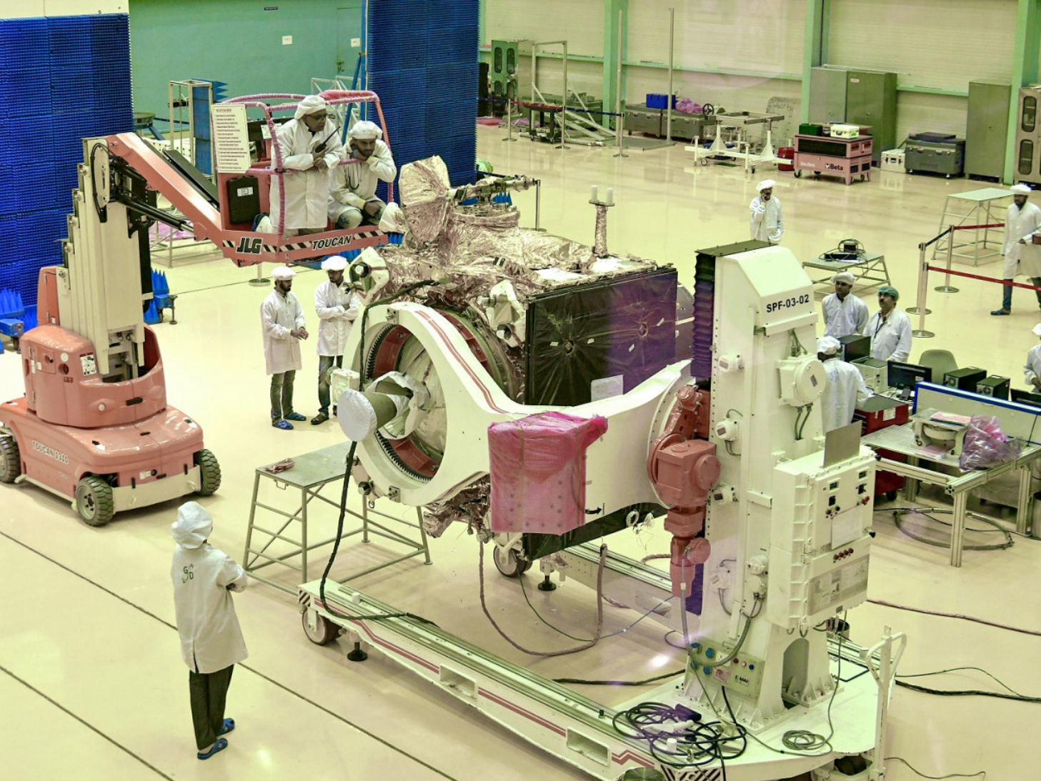 India's second Moon mission to be launched on July 22