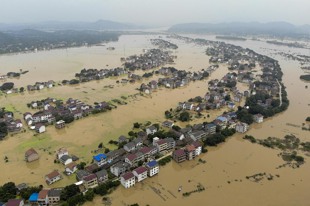 China allocates disaster relief supplies to flood-hit Hunan