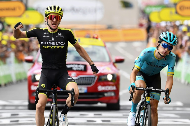 'Back to the day job' for Simon Yates after first Tour de France stage win