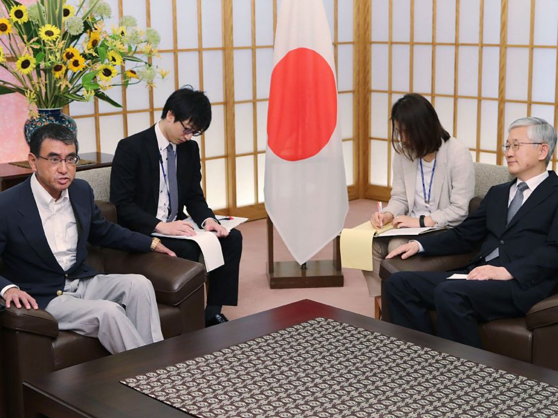 Japan summons S.Korean ambassador over wartime labor row