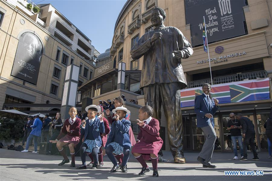 S. Africans mark Mandela Day with focus on poverty
