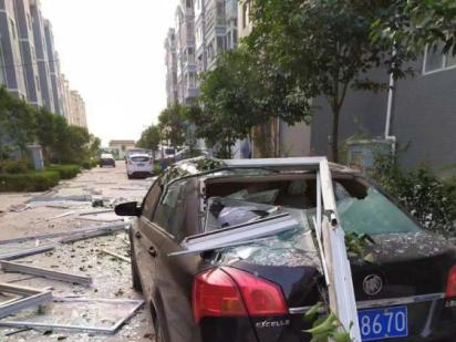 Explosion leaves 2 dead, 12 missing at central China gas factory
