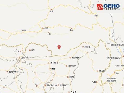 5.6-magnitude quake hits Tibet: CENC