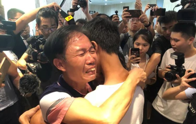 AI helps Chinese couple reunite with son missing for 18 years