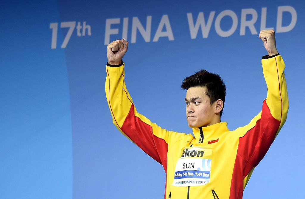 Olympic champion Sun Yang asks for CAS public hearing over WADA appeal