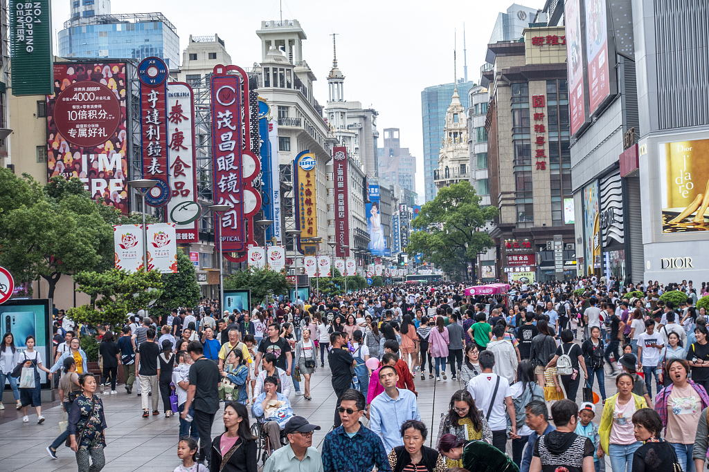 Domestic consumption playing vital role in China's economic growth