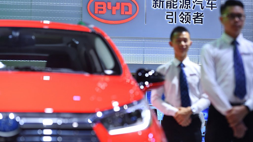 Toyota, China's BYD team up to develop battery EVs