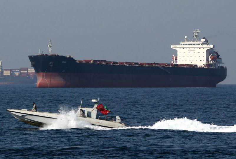 EU expresses deep concern over ship seizure by Iran, calls for restraint