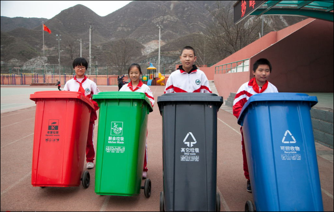 How establishing the Shanghai model of waste disposal can be revolutionary