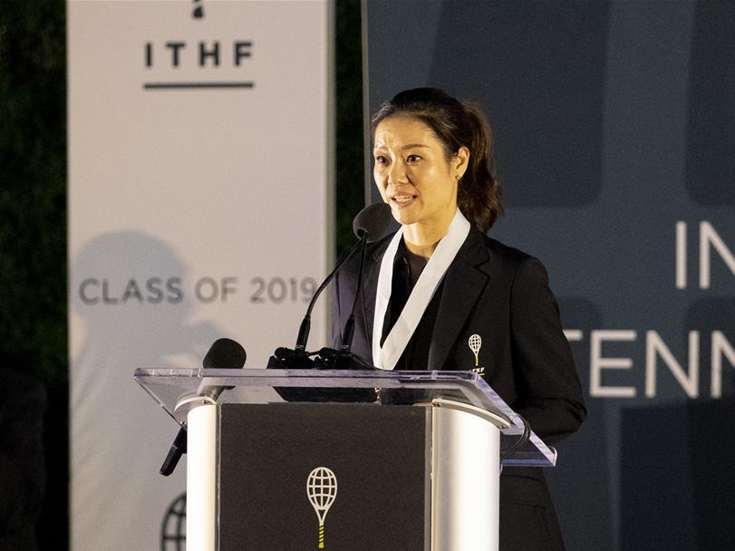 Li Na inducted into Tennis Hall of Fame