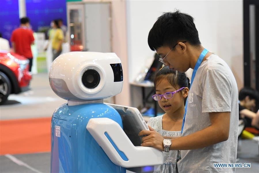 Consumer electronics show held in Qingdao