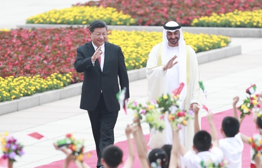 China, UAE pledge to boost comprehensive strategic partnership
