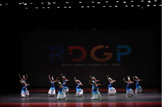 International dancing competition held in Beijing