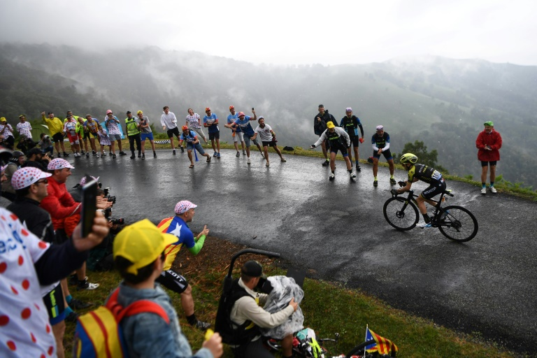 Alaphilippe leaves Pyrenees in Tour lead, Thomas battles back