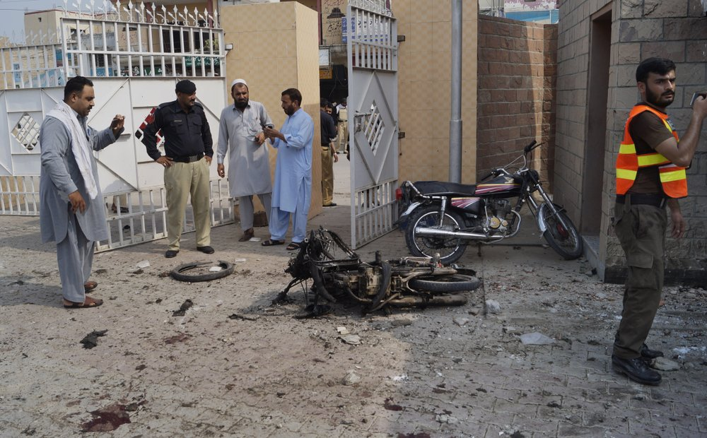 10 killed, 24 injured in series of attacks in NW Pakistan