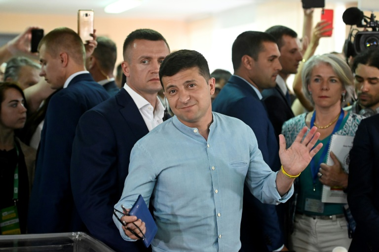 Ukraine's Zelensky looks to consolidate power in parliament vote