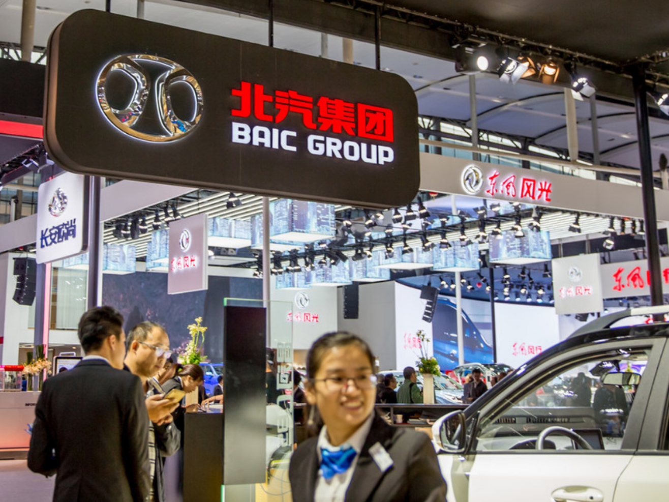 China's BAIC acquires stake in Daimler