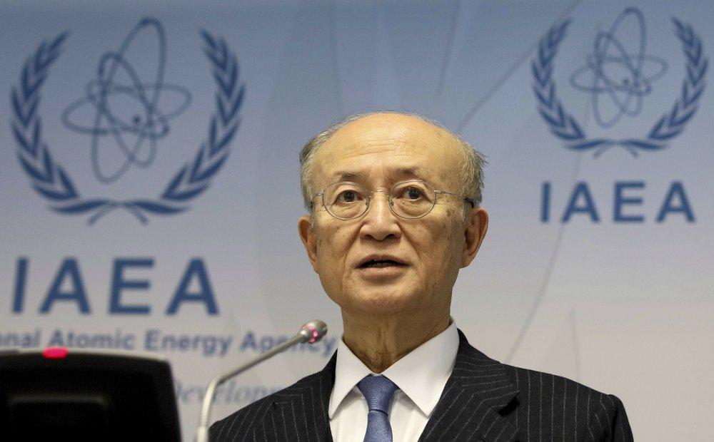 Yukiya Amano, head of UN agency overseeing Iran deal, dies