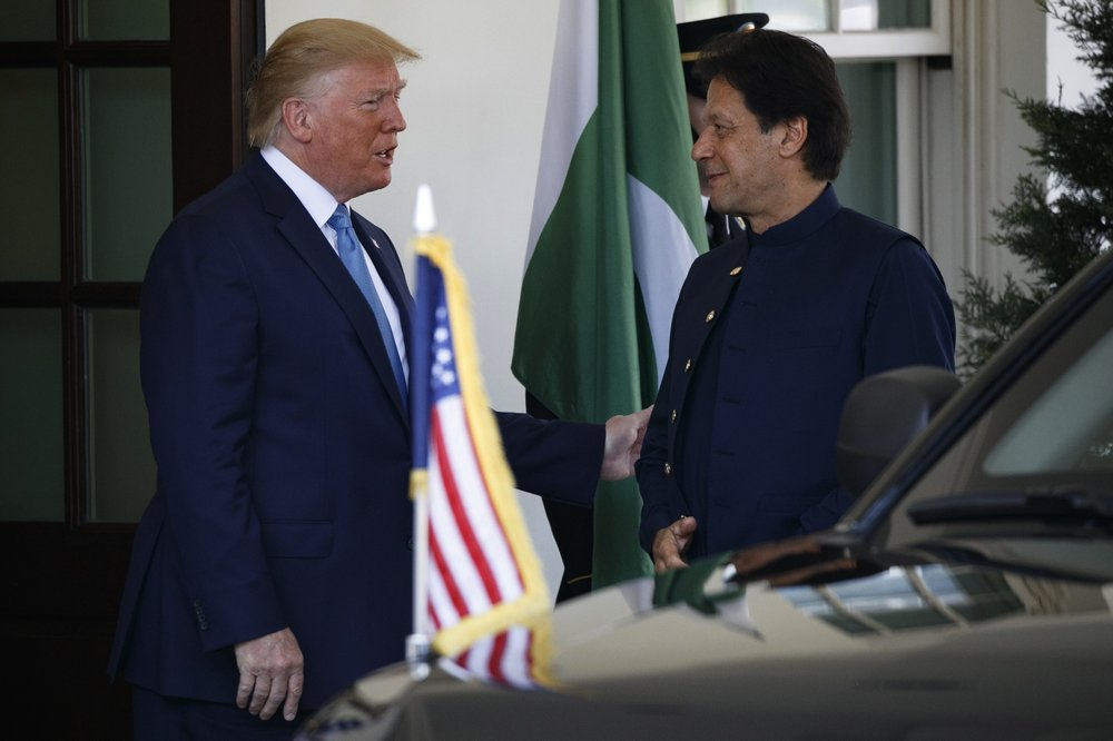 Taliban talks key topic when Trump meets Pakistani leader