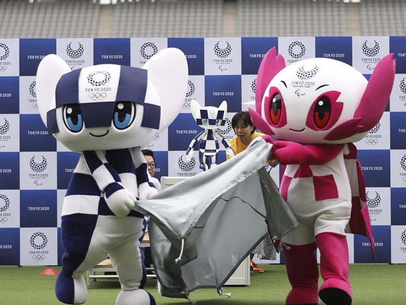 Tokyo 2020 unveils Mascot-type robots to welcome athletes and guests