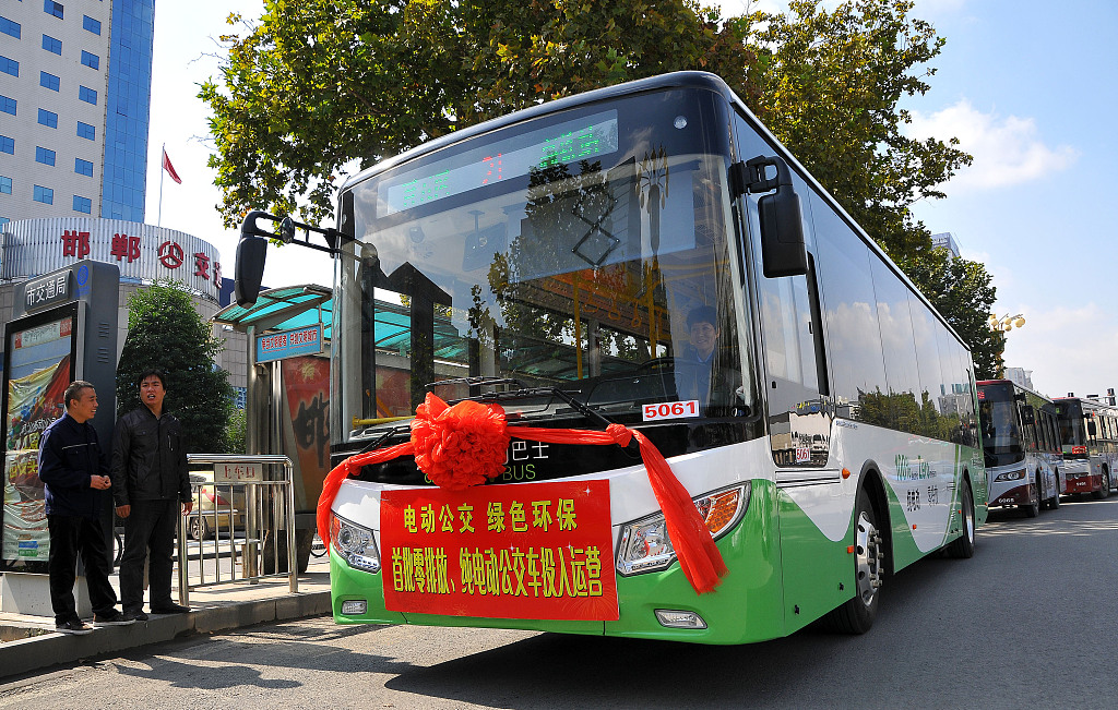 All of Chile's mass transit buses to be electric by 2050