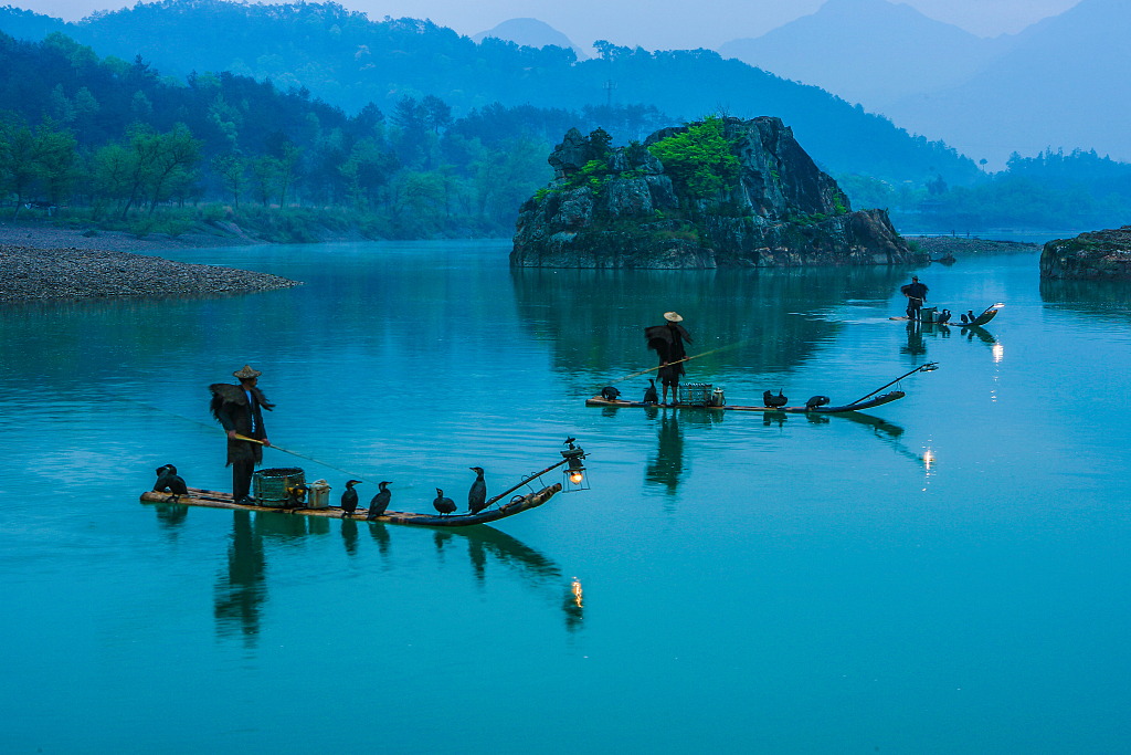 Six rafting destinations around China