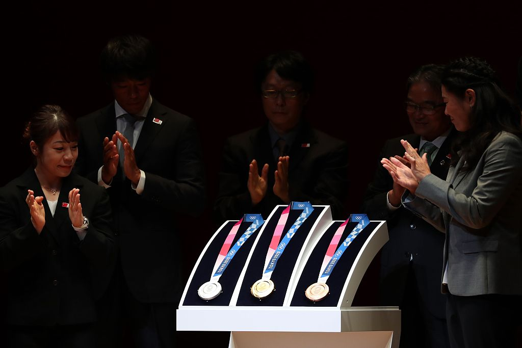 Going for gold: Tokyo unveils 2020 Olympics medal designs
