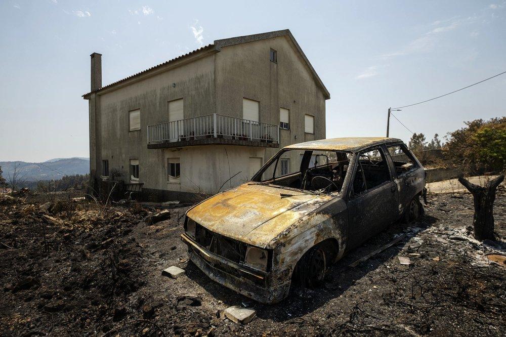 Portugal: Major wildfire declared under control