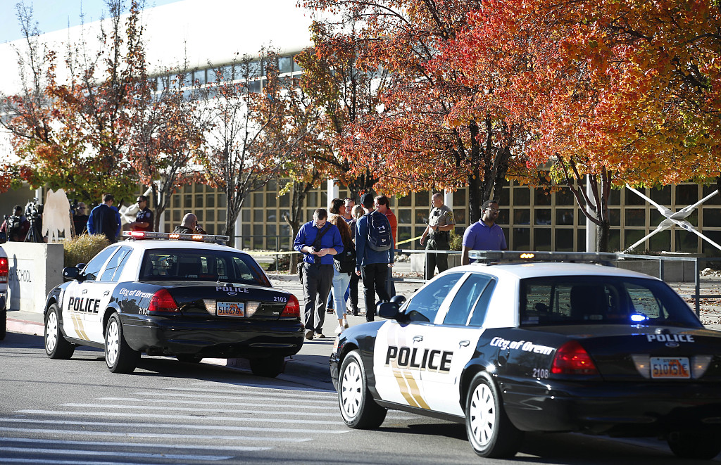 US security officer shoots suspect armed with knife outside federal courthouse
