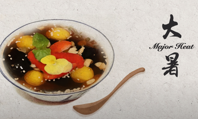 Major Heat: Beat the heat with a bowl of grass jelly dessert