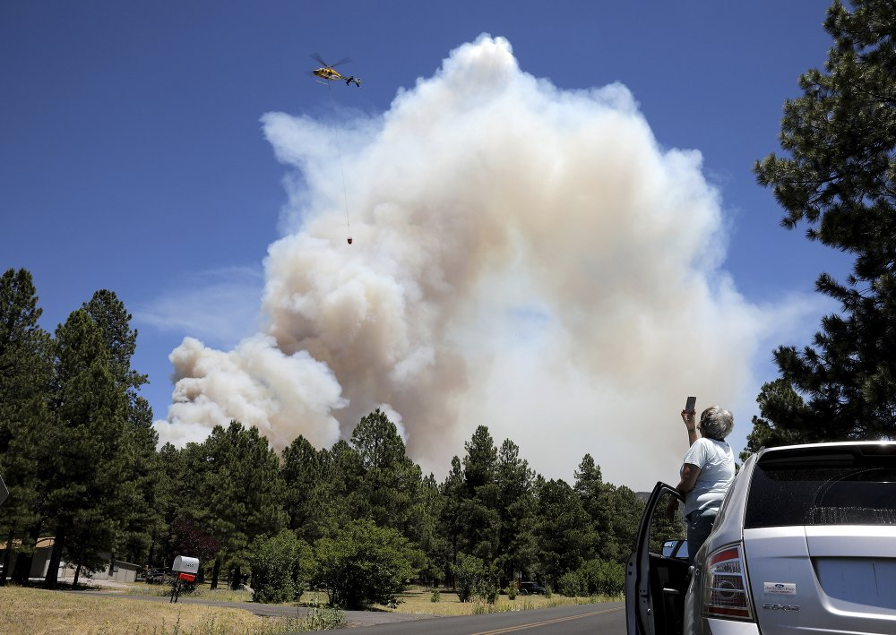 Prime recreation spots could be altered by Arizona wildfire