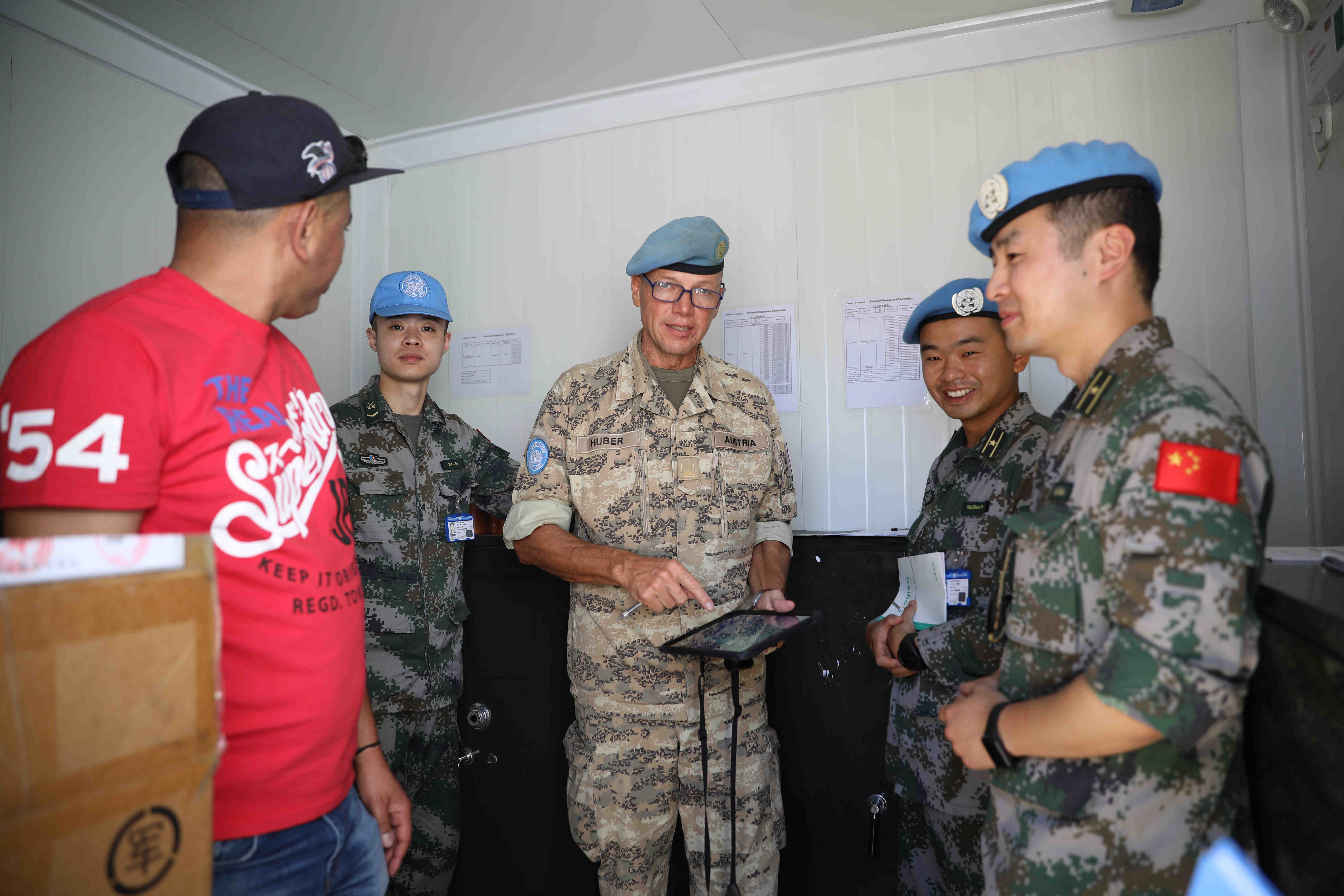 18th Chinese peacekeeping medical team to Lebanon passes UN equipment inspection