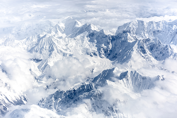'Great Himalaya' mountain map goes viral on the internet