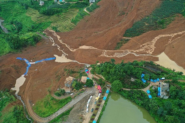 11 dead in Southwest China landslide