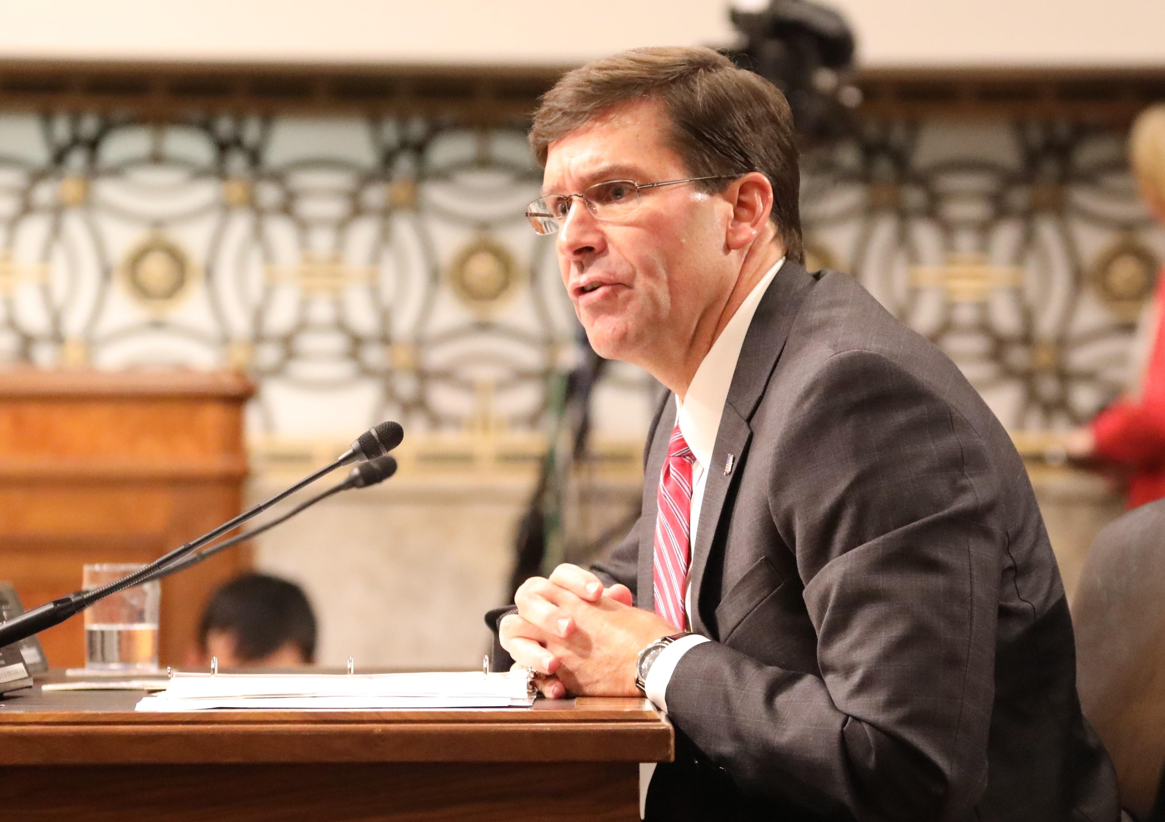 US Senate confirms Esper as Defense Secretary