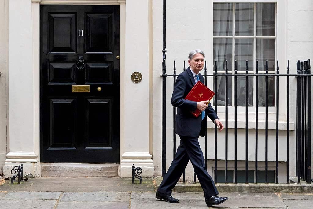 British finance minister Hammond resigns: letter