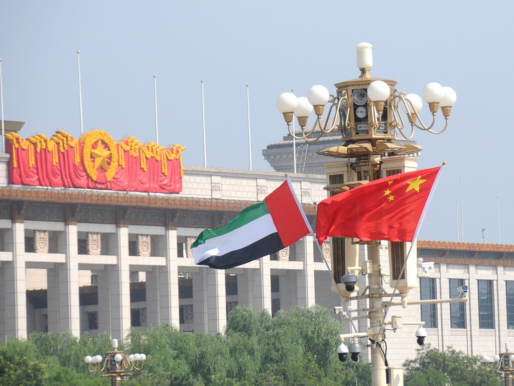UAE-China relations growing stronger