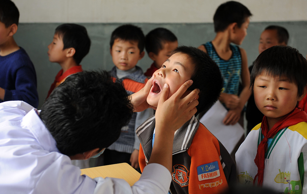 China to conduct national survey on students' health