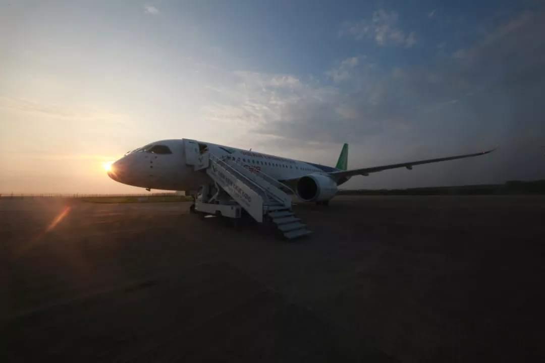 Third C919 plane test-flies to Yanliang, Shaanxi Province